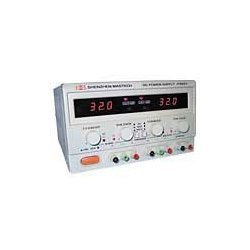 Stromversorgung, Labortisch, digital, 2x 30 VDC @ 3a, 180 Watt, 4-Meter-