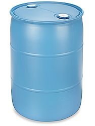 BayTec 55 Gallon Used Plastic Water Barrels Reconditioned as low as $39.95 (Drums Used 55 Gallon Plastic)