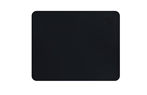 Razer Goliathus Speed (Small) Gaming Mousepad - [Stealth]: Smooth Gaming Mat - Anti-Slip Rubber Base - Portable Cloth Design - Anti-Fraying Stitched Frame