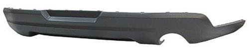 Textured Gray CAPA FO1195116 Rear Bumper Valance Panel for 10 Ford (Ford Mustang Rear Valance)