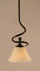 Capri Nickel Table Lamp - Capri 1 Light Mini Pendant