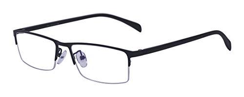 Kelens Black Near Short Sighted Distance Glasses For Myopia Designer Style Mens ()