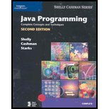 Java Programming Complete Concepts & Techniques (2nd, 04) by Shelly, Gary B - Cashman, Thomas J - Starks, Joy L [Paperback (2003)] by CT, Paperback(2003)