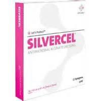 SILVERCEL Antimicrobial Alginate Dressing, Silvercel 1 X 12in Rope, (1 EACH, 1 EACH)