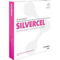 SILVERCEL Antimicrobial Alginate Dressing, Silvercel 1 X 12in Rope, (1 EACH, 1 (Rope Sterile)