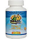 Nature's Sunshine Sunshine Heroes Omega 3 with DHA 90 Soft Chews Each (Pack of 2)