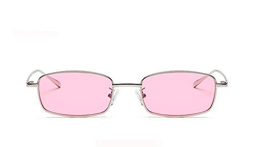 Marco la Metal Gafas de UV400 Mujeres Sol Gafas B de 2018 de Diseñador Hombre KOMNY Gafas Hembra Sol Cuadrado pequeñas D Rectángulo de Marca para p8HvAq7