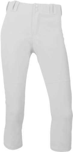 Intensity Womens Home Run Low Rise Premium Belt Loop Pant White M