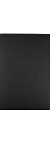 9 1/2 x 14 1/2 Presentation Folders - Black Linen (50 Qty.)