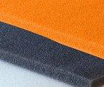 Espuma poliuretano naranja en plancha