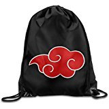 MGTER66 Backpack Gymsack Sport Bag Akatsuki Cloud Logo White For Sale