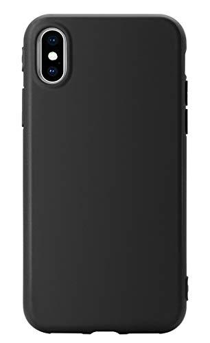 MUNDULEA Matte Compatible iPhone XR case,1.5mm Thick Flexible TPU Protective Cover Compatible iPhone XR (Matte Black)