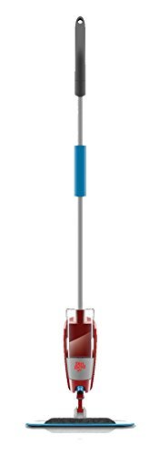 (Dirt Devil PD11020u Quick Clean Steerable Spray Mop with Swipes Microfiber Scrubbing Pad by Dirt Devil)
