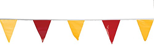 OSHA Approved Pennant Flags Alternating - For Use With Roof Warning Line Perimeters (Use Roof)