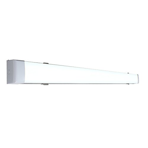 - LEEKI - LED Bar Lamp - Modern Contemporary 35 Inches 6500K Cool White - 2100 Lumens 28W - Great light for bathrooms Kitchen and others