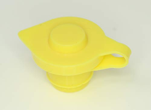 JSP Manufacturing Pick a Pack Yellow Fuel Gas Can Vent Cap Chilton Briggs Rotopax Gott YELLOW Fuel Gas Can Jug Vent Cap 10
