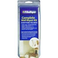 FibaTape FDW8239-U Hole and Crack Repair Kit-Rectangular Clamshell Pack