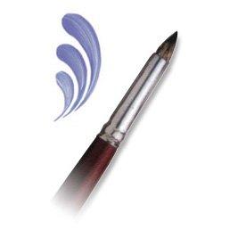 Royal Langnickel Sable Brush Short - Royal & Langnickel 5005 Size 10 Royal Sable (Oil & Acrylic) Short Round Paint Brush - L5005-10 - USA