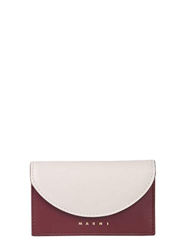Marni Women's Pfmo0006q2lv589z2d14 White Leather Wallet