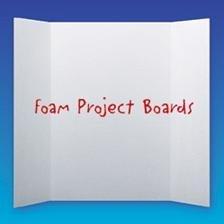 Flipside 30048 - White Foam Project Board - Foam - 36 X 48 - Case Of 24