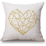 Uloveme 18 X 18 Inches / 45 By 45 Cm Geometric Pillow Covers