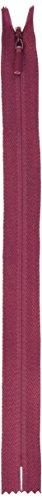 Invisible Unique Zipper - Unique Invisible Zipper 9 Inch -Burgundy