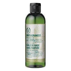 Body Shop Unfragranced массажное масло, 5-жидкую унцию
