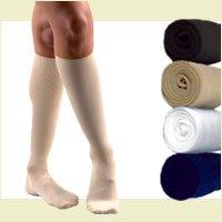 (Activa 15-20 mmHg   Sheer Therapy Women's Socks, White, X-Large)