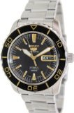 Seiko 5 Sports Automatic Black Dial Stainless Steel Mens Watch SNZH57J1 by Seiko Watches 5 Superior Automatic Mens Watch