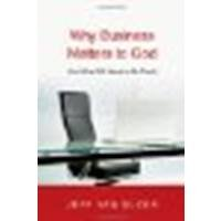 Why Business Matters to God (10) by Duzer, Jeff Van [Paperback (2010)]