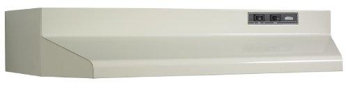 Broan 402408 ADA Capable Under-Cabinet Range Hood, 160 CFM 24-Inch, Almond