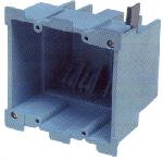 Carlon Lamson & Sessons BH234R SuperBlue™ Hard Shell Double Gang Old Work Box
