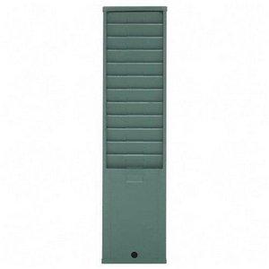 Acroprint Time Recorder 81-0107-000 Acroprint 25 Pockets Time Card Rack - 1.75 X 4.37 X 31 - 25 Pocket[s] - Metal - Green