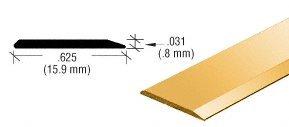 CRL Brite Gold Anodized Aluminum 5/8