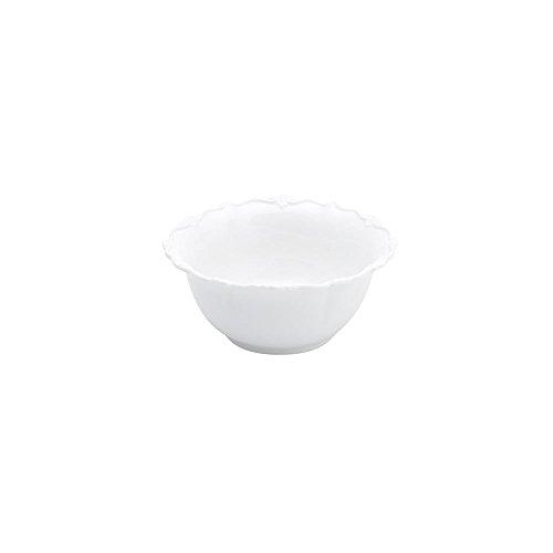 Cj 6 Tigelas De Porcelana Fancy Branco 14X14X6Cm, Rojemac, 17272, Branco