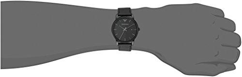 87bdc310 Emporio Armani Men's AR1732 Dress Black Leather Watch