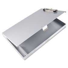 Metal Storage Clipboard x8 1 Silver