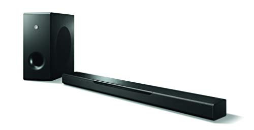 Yamaha MusicCast BAR 400 Sound Bar with Wireless Subwoofer and Alexa Connectivity...