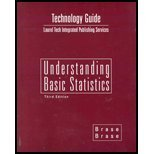 Technology Guide : Used with ... Brase-Understanding Basic Statistics, Brase, Charles Henry and Brase, Corrinne Pellillo, 0618333606