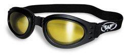 Adventure gelb Tint Motorrad Goggles faltbar von cglasses