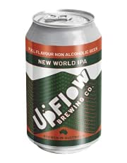 UpFlow New World IPA Non-Alcoholic Beer 24x375mL Cans