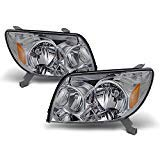 (For Toyota 4Runner Sport SUV [OE Style] Replacement Headlights Driver/Passenger Head Lamps Pair)