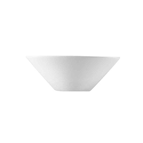 CAC-China-F-NB6-Clinton-9-Ounce-Super-White-Porcelain-Oval-Bowl-6-12-by-3-12-by-2-14-Inch-36-Pack