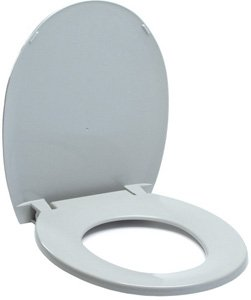 Standard Commode Seat with Lid -Part: Lumex Replacement Commode Seat for 7103A-4