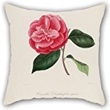 [Flower Cushion Cases ,best For Dining Room,bf,kitchen,deck Chair,divan,couch 16 X 16 Inches / 40 By 40 Cm(twice] (Awesome 3 Person Halloween Costumes)