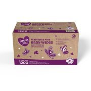 Parent's Choice Fragrance Free Baby Wipes, 12 packs of 100 (1200 ct)