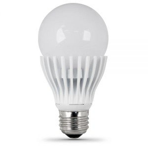 Bombilla LED E26 Base 120 V 9,5 W (60 W equivale a) A19 bombilla - intensidad regulable - 5000 K - 800 lumens-2pk: Amazon.es: Iluminación