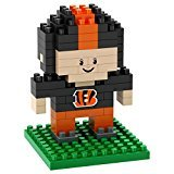 Cincinnati Bengals Mini BRXLZ Player Building Blocks, One Size, Orange …