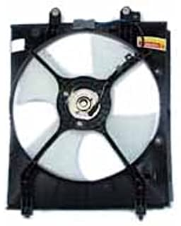 TYC 610800 Acura TL Replacement Condenser Cooling Fan Assembly