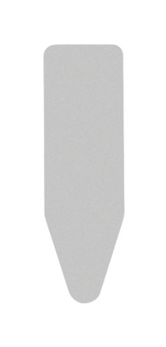 Brabantia Ironing Board Cover 53 x 18 Inch (Size D, Extra Large) Silver Metallic by Brabantia